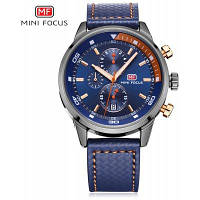 MINIFOCUS MF0017G Кварцевые часы для мужчин Синий