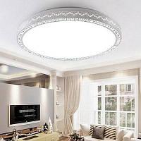Уютный стиль круглый потолочный светильник 220V Белый