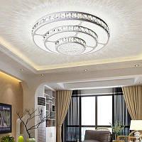 Модный круглый потолочный светильник 220V люстры потолочные Белый