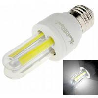 Youoklight 1шт E27 3W Ac 85-265V 4COB холодный белый свет светодиодная кукурузная лампа Холодный белый свет