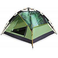 Полярный огонь ZPT302 Анти-ультрафиолетовая палатка для авто кемпинга для 3-4 человек Зеленый армейский