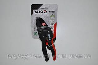 Yato секатор с храповым механизмом YT-8807