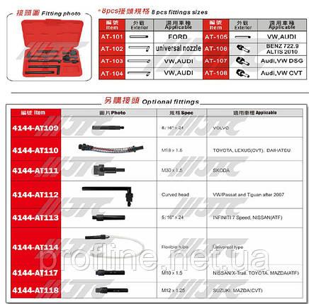 Набор сменных фитингов универсальных 8 ед. (для 4144A)  4144P JTC, фото 2
