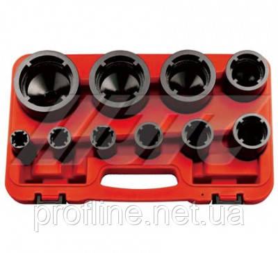 """Набор зубчастых головок 1/2"""" (внутренние, 10ед)  5432 JTC, фото 2"""