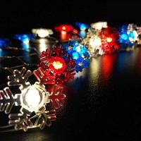 Снежинка Shape String Lights для патио Micro 2M 20-LED SSL-32314