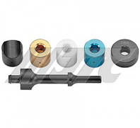 Набор адаптеров для пневматического молотка (6шт.)  5437 JTC