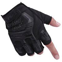 CTSmart пара ветрозащитных противоскользящих перчаток на половину пальца XL