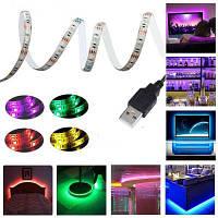 KWB 5V LED RGB 5050 полоса света водонепроницаемая с мини-контроллером Водонепроницаемый