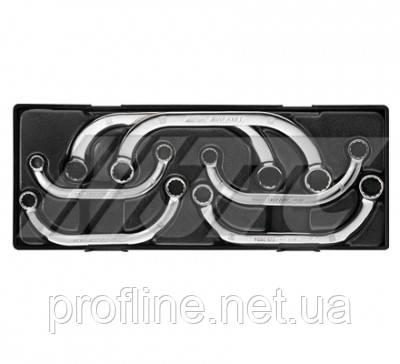Набор ключей накидных 10-19мм, С-образных (6ед.)  K6061 JTC, фото 2