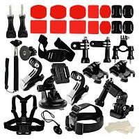 Набор аксессуаров для экшн спорт камеры Чёрный