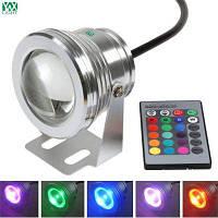 YWXLight 10W 12V IP67 LED подводный свет RGB-контроллер фонтан бассейн лампы освещения RGB