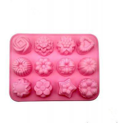 Силиконовые формы для выпечки в виде лотоса - Розовый, фото 2