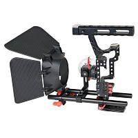 YELANGU C500 Клетка для камеры козырек от солнца фоллоу фокусы Красный