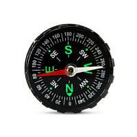 Портативный акриловый компас для наружного использования Чёрный