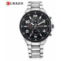 8276 модные кварцевые мужские часы Чёрный