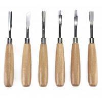 Ручной инструмент для гравировки по дереву нож 6шт дерево