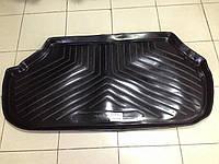 Коврик в багажник для Audi 100/А6 1990-94 седан, резинопластиковый (Norplast)