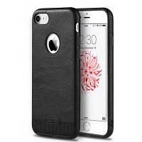 Бизнес кожаный защитный чехол прошивка для iPhone 7 плюс