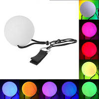 YouOKLight новая мода в RGB 3 светодиодные пои бросили шарики для Профессиональный Танец живота уровень ручной реквизит RGB