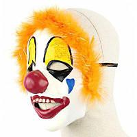 Красный Нос Клоуна Латексная Маска Цветной