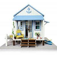 Деревянный набор DIY побережье Вилла Цветной
