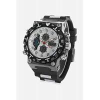 HPOLW 628 аналого-цифровые часы для мужчин Белый