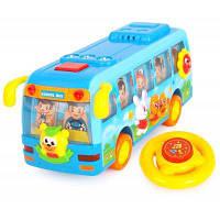 Мини Пластмассовый Школьный Автобус Игрушка Для Детей 55928