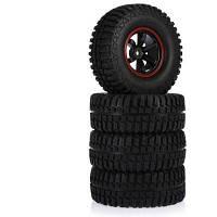 Доска АКС-3020B 4шт 103мм резиновые шины черный и красный