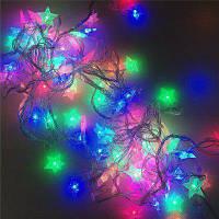 10м 8 режимов 100шт звезды свет строка декоративный Цвет свет Белый