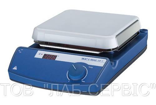 Плитка нагрівальна C-MAG HP 7 керамічна, 1,5 кВт. t=50…500 С, 260х260 мм