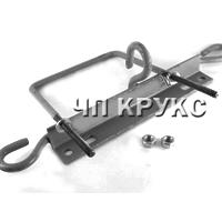Кронштейн для крепления провода СИП 9653 + скоба стальная М-12