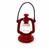 Мини Пластиковые Ретро Масляная Лампа Красный с чёрным