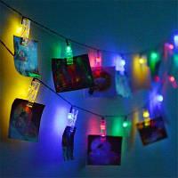 Светодиодные 20шт-клипы гирлянда цвет света декоративные фонари Белый