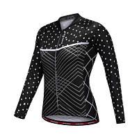 WOSAWE BC219 женская тонкая эластичная куртка джерси для езды на велосипеде S