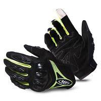 Пара противоскользящих резиновых перчаток для езды на велосипеде M