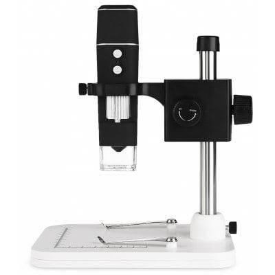 500X HD WiFi цифровой микроскоп для iOS / андроида черный и белый, фото 2