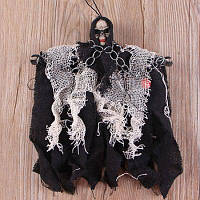 Висячий призрак украшение для сцены реквизит для Хэллоуина Чёрный