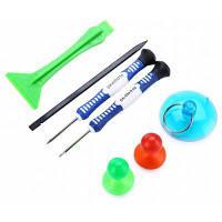 7 в 1 комплект инструментов для демонтажа мобильных телефонов Цветной