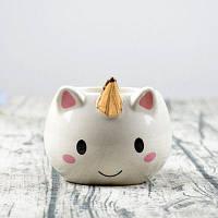 300 мл Cute Cat Единорог Кружка Керамическая чашка кофе Золотой