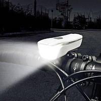 SAHOO 71386 USB зарядка велосипед передний свет Белый