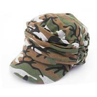 QingFang Унисекс Трикотажные Согреться Печатных Бейсбол Шляпа Зеленый армейский