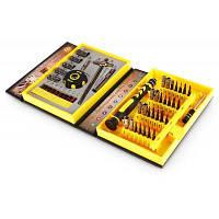 AC-36 Профессиональная отвертка ручной инструмент для ремонта 47шт Жёлтый и чёрный