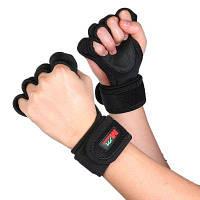 Mumian F02 пара велосипедных перчаток на половину пальца для фитнеса и езды на велосипеде Чёрный