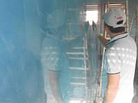 Откосы из пенопласта внутри квартиры