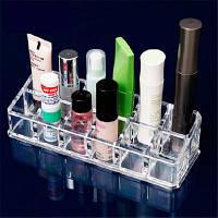 Прозрачный 12 квадратов рабочего стола для макияжа Ясно Белый