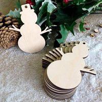 Деревянные снеговики Рождественская елка украшения 10шт. Цвет пегой лошади