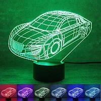 3D лампа-светильник АВТОМОБИЛЬ Объемные 3 D светильники с 7 вариантами подсветки! , фото 1
