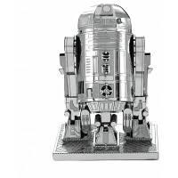 3D R2D2 Mini сборная модель-головоломка робот Серебристо-серый цве