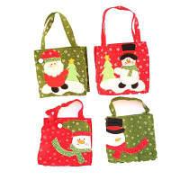 Macroart Рукодельный рождественский мешок для подарков и конфет 4шт Цветной