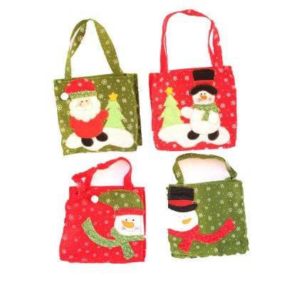 Macroart Рукодельный рождественский мешок для подарков и конфет 4шт - Цветной, фото 2